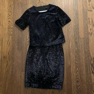 Ann Taylor Marching Sequin Set